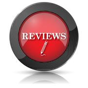 reviews icon - stock illustration