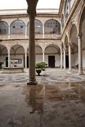 Cloister of the city hall, ubeda, andalusia, spain Stock Photos