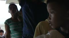 Typhoon Haiyan Philippines - Civilians Extraction - 04 Stock Footage