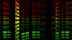 Large Segment Equalizer Tubes - stock footage