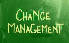 Stock Illustration of change management concept