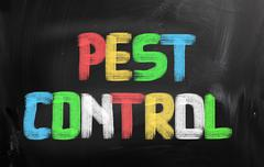 Pest control concept Stock Illustration