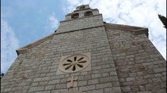 Church, Montenegro Stock Footage