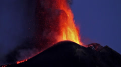 Lava Fountain Stock Footage