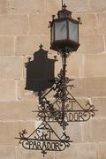 lamppost, ubeda, spain - stock photo