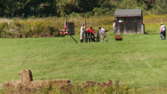 Stock Video Footage of Enactors shooting a cannon (1 of 3)