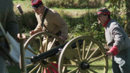 Stock Video Footage of Preparing a cannon for battle (1 of 2)