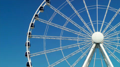 The Seattle Great Wheel Stock Footage