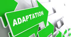 Stock Illustration of Adaptation on Green Arrow.
