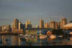 Vancouver City View Stock Photos