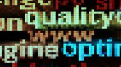 Stock Video Footage of www pixels