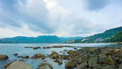 Andaman sea. phuket Stock Footage
