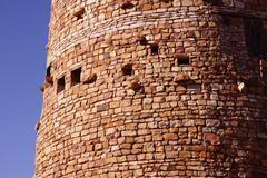 watchtower of local stones, - stock photo