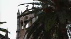 Mediterranean Church, bells Stock Footage
