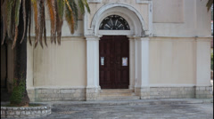 Herceg Novi, Church of St. Jerome Stock Footage