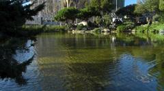 Stock Video Footage of Spain Catalonia Barcelona Antoni Gaudi Sagrada Familia Cathedral