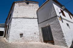 corner of sabiote, jaen province, andalusia, spain - stock photo