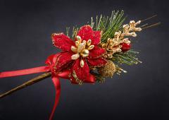Classic christmas ornament Stock Photos