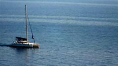 Catamaran Stock Footage