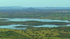 Alqueva Dam #1 Stock Footage