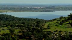 Alqueva Dam #2 Stock Footage