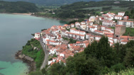 Stock Video Footage of Village - Lastres, Spain