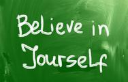 Stock Illustration of believe in yourself concept