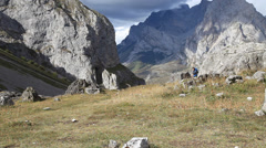 Mountains and Clouds Stock Footage