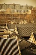 Beijing ancient architecture Stock Photos