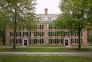 Stock Photo of colonial brick building