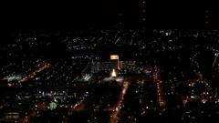 Pittsburgh Aerial Allegheny General Hospital Stock Footage