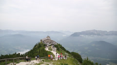 "Berchtesgaden ""Eagle's Nest"" in Austria Stock Footage"