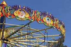 Merry-go-round  carousel Stock Photos