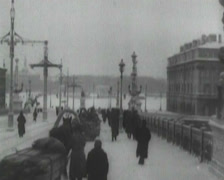 1916 - Russia - Scenes from Moscow Stock Footage
