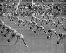 1920 - 1935 - Russian Propaganda Event 07 - stock footage