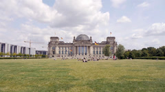 Parliament germany Stock Footage