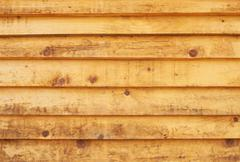 yellow wood texture with natural patterns - stock photo