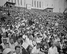 1920 - 1935 - Russian Propaganda Event 22 - stock footage