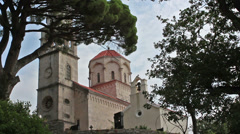 Monastery, low angle Stock Footage