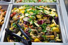toscana grilled vegetables - stock photo