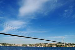 Bosporin silta Istanbulissa Turkissa Kuvituskuvat