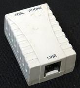 DSL adaptor - stock photo