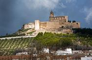 Stock Photo of fortress of la mota, alcalá la real, jaén province, andalusia, spain