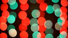 Christmas bokeh background Stock Footage