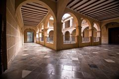 The municipal museum of alcala la real, spain Stock Photos
