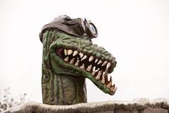 Mutantti alligaattori ydinvoima kesällä Kuvituskuvat