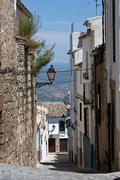 Street of sabiote, jaen province, Andalusia, spain Stock Photos