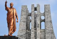 Stock Photo of kwame nkrumah memorial park monument