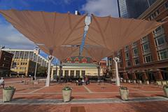 Uusi Sundance Square Downtown Fort Worth Kuvituskuvat