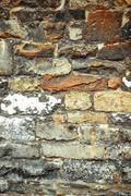 old stone wall textures - stock photo